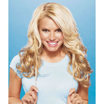 Jessica Simpson Hair Extensions 5